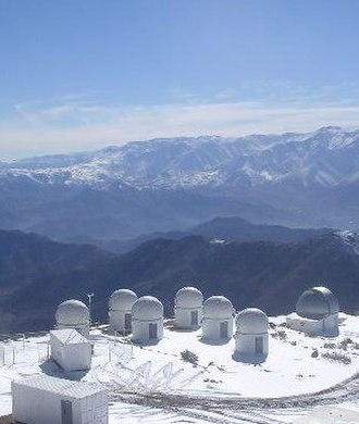 PROMPT Telescopes - The Six PROMPT Domes at CTIO