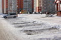 Public car park in Russia in winter.JPG