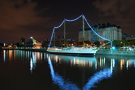 Puerto Madero, Night