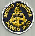 Puerto Rico - Unidad Maritima - police patch.jpg