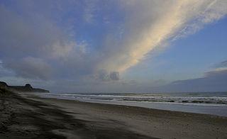 Pukehina Place in Bay of Plenty, New Zealand