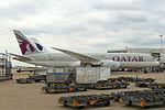 Qatar Airways, Boeing 787-8 Dreamliner, A7-BCR - LHR (18792612160).jpg