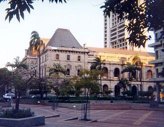 Robert Lord (Australian politician) - Parliament House, Brisbane