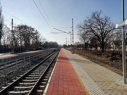 Menetrendek Rákoscsaba Vasútállomás tömegközlekedéssel