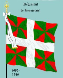 Image illustrative de l'article Régiment de Beaujolais (régiment de Traisnel)