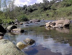 Sumpul River - Río Sumpul near Las Pilas, Chalatenango