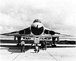 RAF Avro Vulcan at NAS Agana c1972.jpg