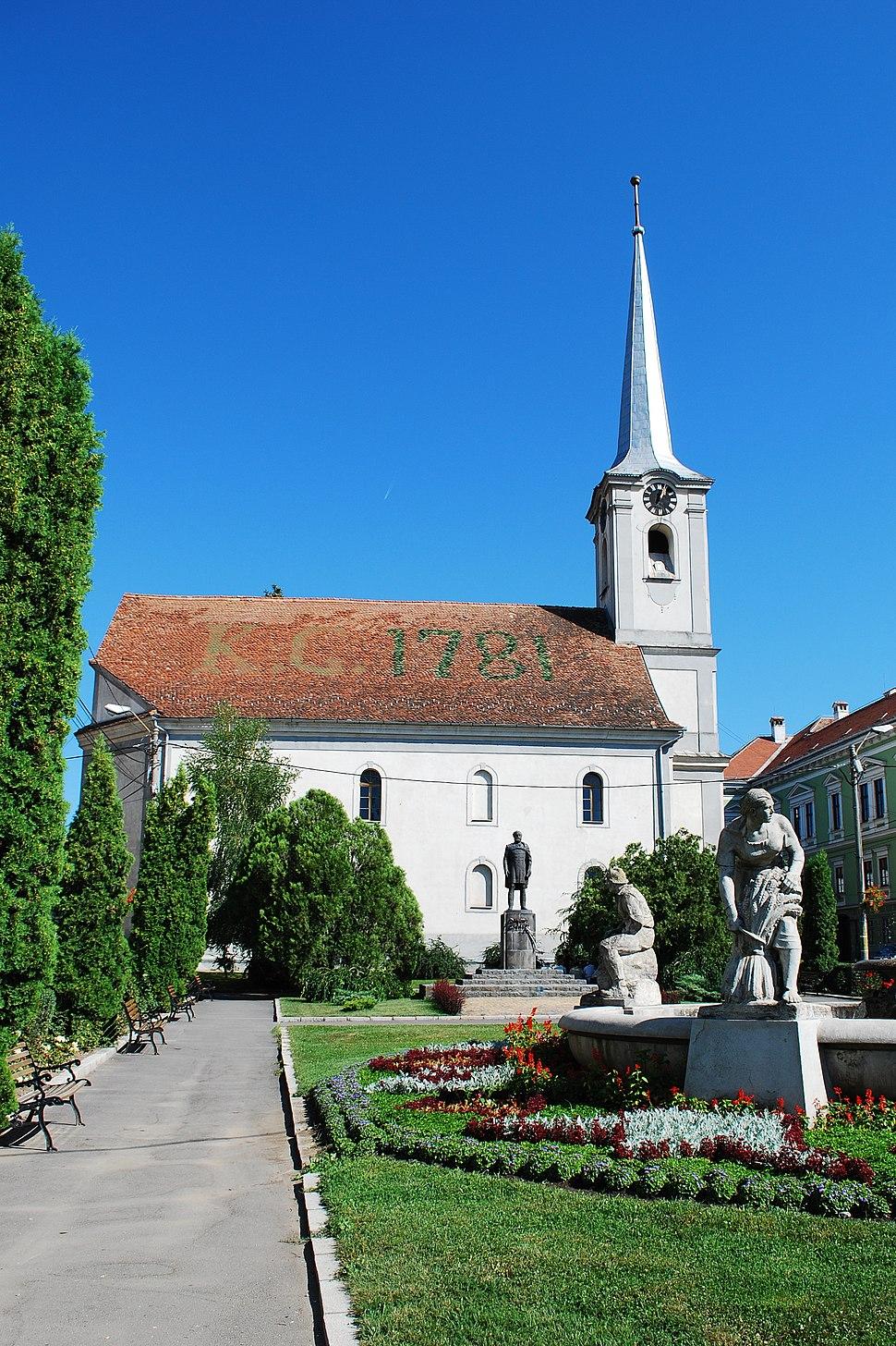 RO HR Odorheiu Secuiesc church