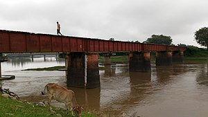 Radhikapur railway station - Image: Radhikapur 4