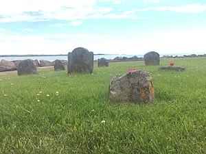 Isthmus of Chignecto - British Gravestones from the Mi'kmaw Raid on Fort Monckton (1756) - oldest  known gravestones in the Maritimes