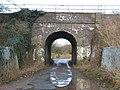 Railway bridge on National cycle route 45 - geograph.org.uk - 309855.jpg