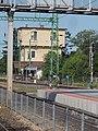 Railway station, tower, 2019 Siófok.jpg