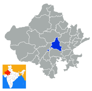 Ajmer district District of Rajasthan in India