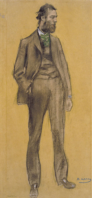 Ramon Pichot - Pichot seen by Ramon Casas (MNAC)