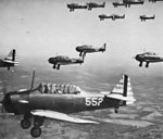 Randolph Field - North American BT-14 Trainers in Formation.jpg