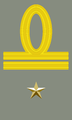 Rank insignia of primo tenente of the Italian Army (1940).png