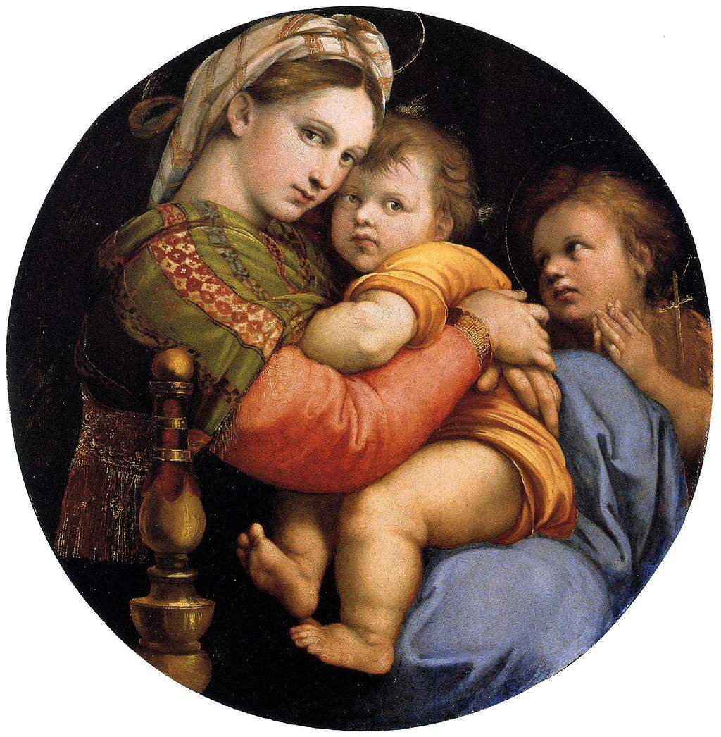 Raphael Madonna della seggiola