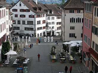 Rapperswil-Jona - Rapperswil Hauptplatz (main square)