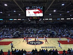 Raptors 905 - Raptors 905 inaugural home opener at the Hershey Centre in Mississauga