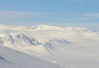 Rasletind mountain in Norway