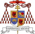 Lo stemma cardinalizio di Joseph Ratzinger