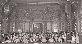 <i>Raymonda</i> Ballet choreographed by Marius Petipa and with music by Alexander Glazunov