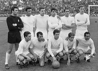 Francisco Gento - Real Madrid before the 1966 European Cup Final against FK Partizan