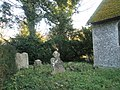 Rear of the churchyard at St Peter, East Marden - geograph.org.uk - 1093362.jpg