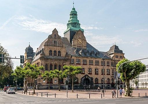 Recklinghausen, Rathaus 2015 7398