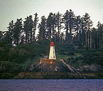 Prince Rupert, British Columbia - Lucy Island Lighthouse, built 1907