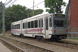 Red Line (Pittsburgh) - Red Line train