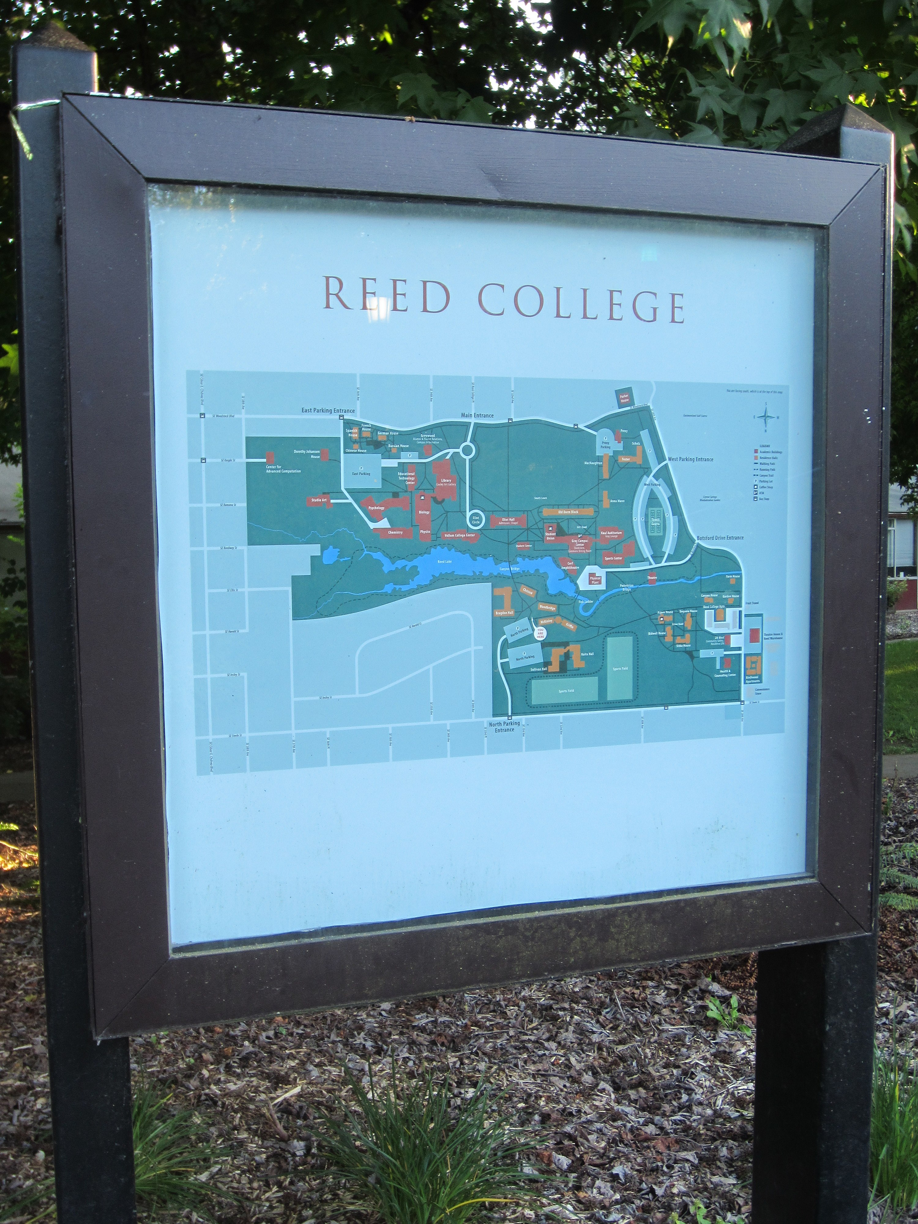 File Reed College Campus Map 2012 Jpg Wikimedia Commons