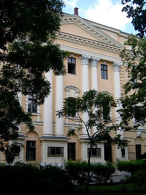 Debrecen Reformed Theological University - Main Building of the University