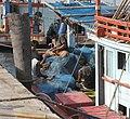 Repairing fishing nets (3180657540).jpg