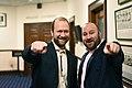 Representative John Lincoln and Jeff Landfield. Juneau, Alaska.jpg