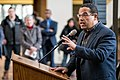 Representative Keith Ellison speaking in support of DACA at Hennepin County Government Center Minneapolis, MN (38666523555).jpg