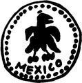 Resello insurgente de origen desconocido durante la Guerra de Independencia de México (01a).png