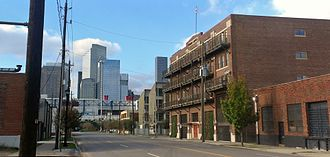 East Downtown Houston - Residential buildings in East Downtown Houston.