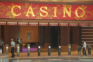 Casino access control at Resorts World at Sentosa