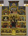 Retaule dels Goigs de la Mare de Déu, anònim valencià, museu de Belles Arts de València.JPG