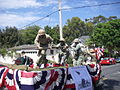 Retired U.S. Marine Corps Sgt. Maj. Bill Paxton and several Marine volunteers stationed at Marine Corps Recruit Depot San Diego honor the veterans of the Battle of Iwo Jima with their float during the Coronado 110704-M-QY921-002.jpg