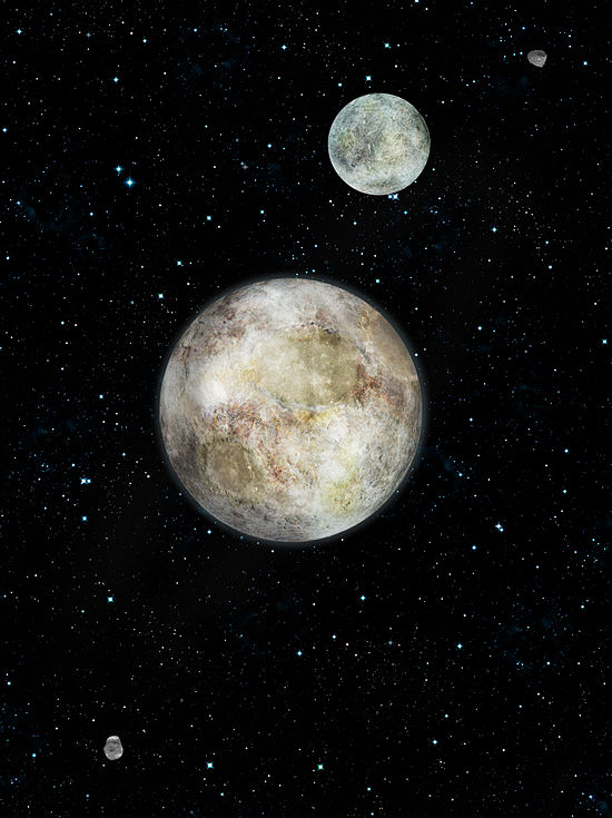 pluto's moons biggest to smallest - HD1416×1600