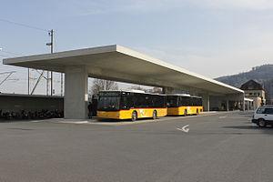 Rheineck railway station - Image: Rheineck 180214 3