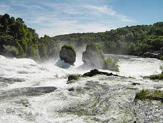 Neuhausen am Rheinfall - Rhine Falls at Neuhausen