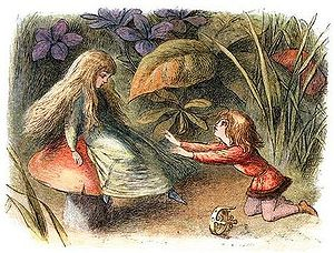 Edmund Evans - In Fairyland, a Series of Pictures from the Elf-World engraving, illustrated by Richard Doyle, coloured and printed in 1870 by Evans.