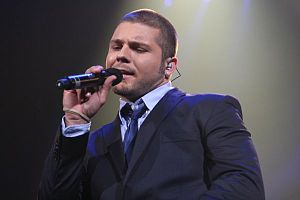 Chris Richardson - Chris Richardson performing as part of the American Idols LIVE! Tour 2007