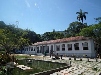 Visitor center - Visitor centre of the Rio de Janeiro Botanical Garden, Brazil.