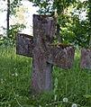 Rist Aids Petersi haual, Pühalepa kirikuaed.jpg