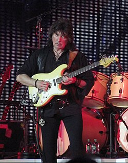 Ritchie Blackmore British guitarist of the band Deep Purple