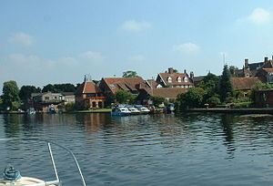 River Waveney - The River at Beccles